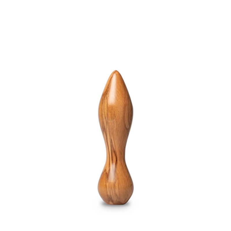 Exocet, godemichet en bois essence frêne olivier | le sextoy en bois produit dans les Vosges