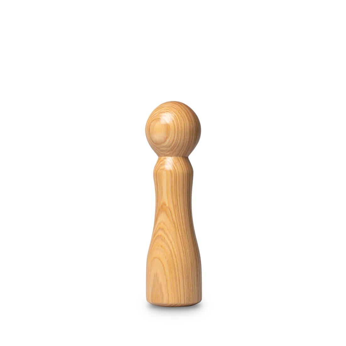 M. Pepper version frêne olivier gode par bobtoys | sextoy en bois produits dans les vosges